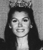 """Miss America1972  Laurel Schaefer   Bexley, Ohio  An Ohio Buckeye, Laurel Lea Schaefer graduated from Ohio University receiving a Bachelor of Fine Arts Degree in June 1971. Three months later she had achieved the auspicious honor of """"Miss America""""."""