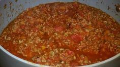 "Copycat Wolf Brand Chili Ingredients: Step 1 2 lbs - beef chuck tender cut into 3/8"" cubes 1 tsp - cooking oil 1 tbsp - dark chili powder 2 tsp - granulated garlic In a three quart heavy saucepan, add..."