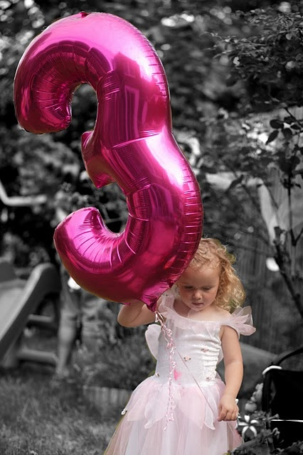 pink and fairies perfect for a little girl party