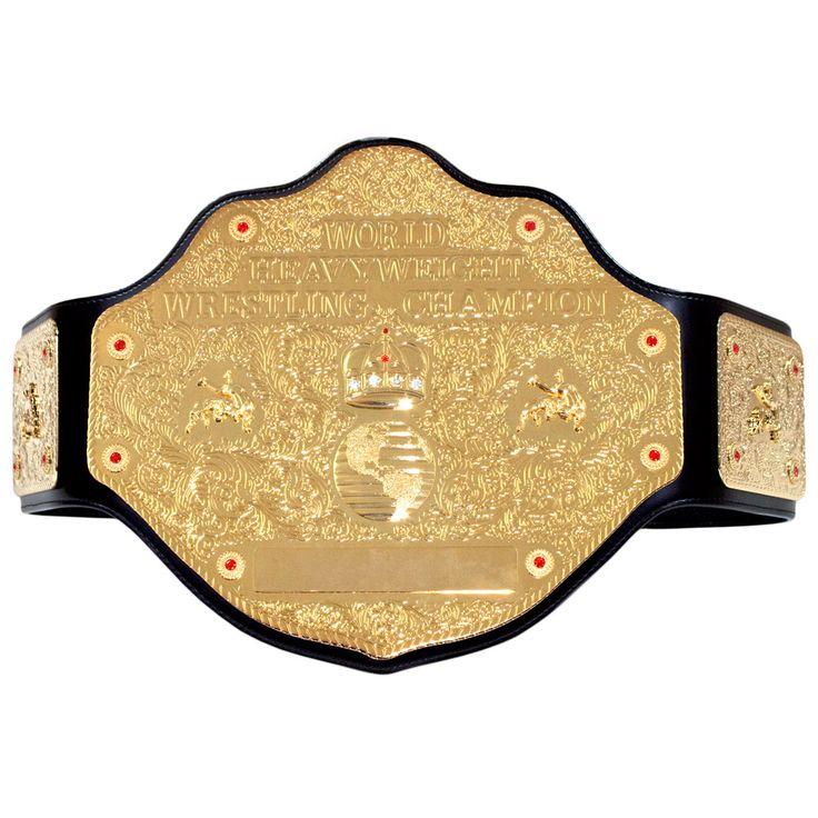 WCW  World Heavyweight Championship Replica Title Belt(Alliance Edition).  사고싶다
