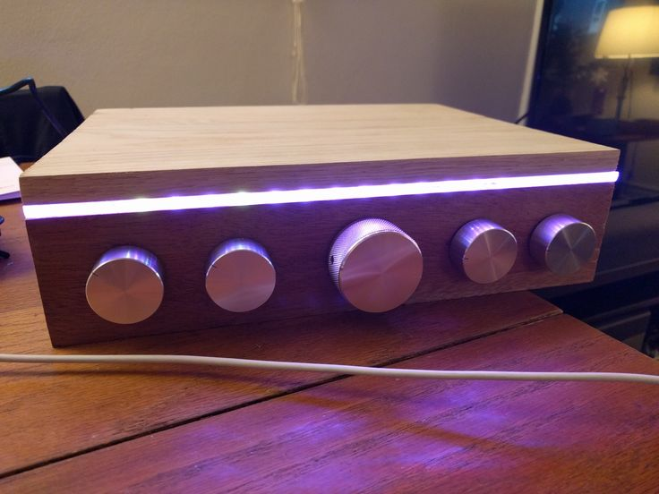 I Made a raspberry pi Spotify Jukebox with color-changing LEDs, volume & playlist controls, and a webapp - Imgur
