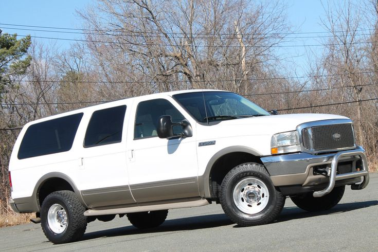 2000 Ford Excursion 7.3L Powerstroke Diesel, 4x4, Texas Truck, Carfax! 2000 FORD EXCURSION 4X4 7.3L POWERSTROKE DIESEL LIMITED LEATHER RUST…