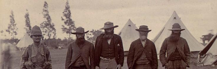 Anglo Boer War 1899-1902 Boer prisoners - South Africa