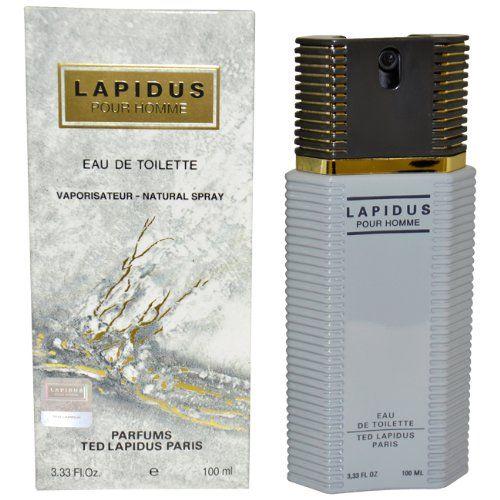 Lapidus Pour Homme de Ted Lapidus Eau de Toilette Vaporisateur 100ml: L'emballage de ce produit peut être différent de celui présenté sur…
