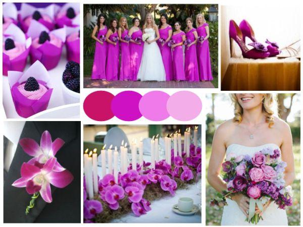 Radiant Orchid Wedding Inspiration // #Pantone #coloroftheyear