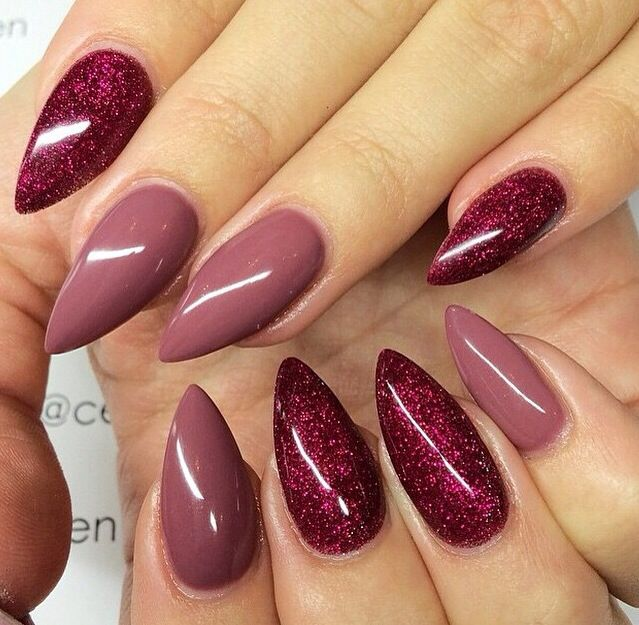 15 Lovely and Trendy Nail Designs - 25+ Best Rounded Stiletto Nails Ideas On Pinterest Almond Shape
