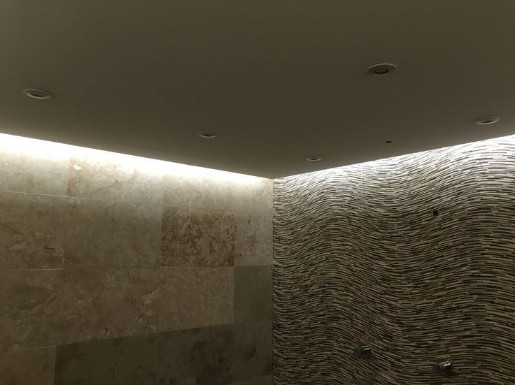 Cool modern Halo style LED bathroom ceiling by  DCL electrical