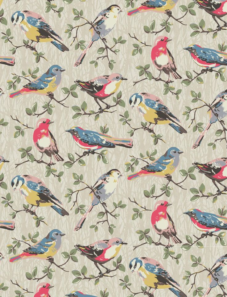 Small Garden Birds | Cath Kidston Autumn Winter 2016 |