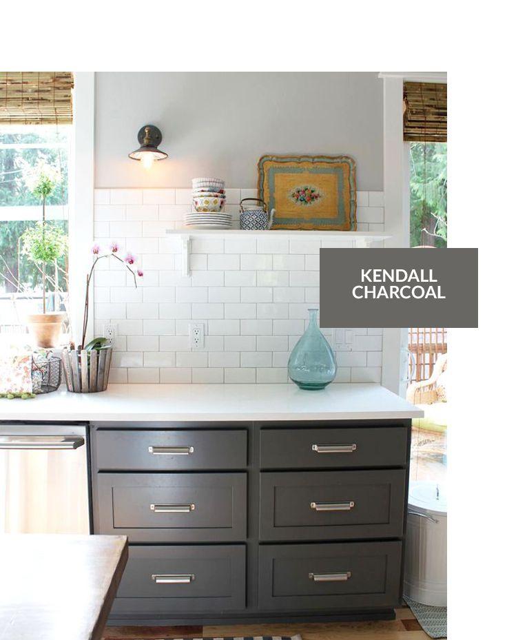 1000 ideas about cabinet paint colors on pinterest for Grey cabinet paint