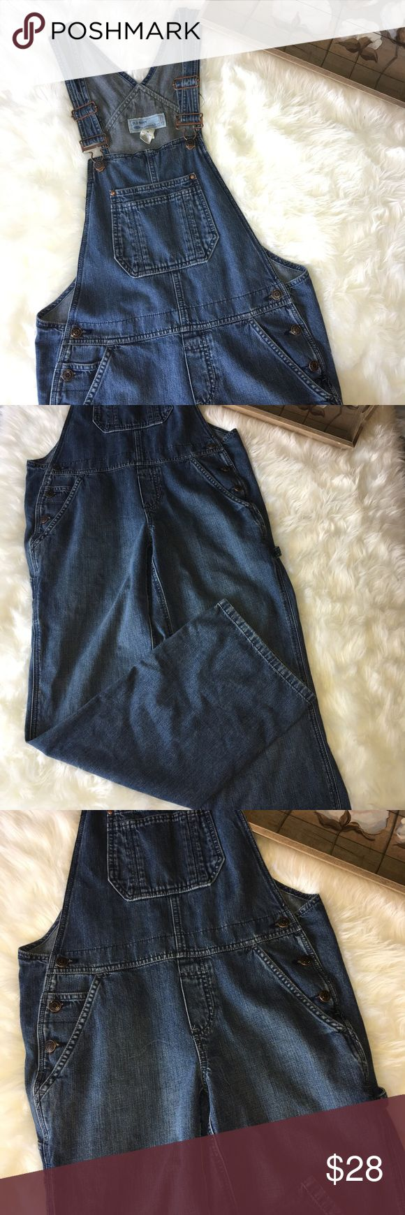Old Navy Blue Jean Overalls Old navy blue jean overalls size medium. Old Navy Jeans Overalls