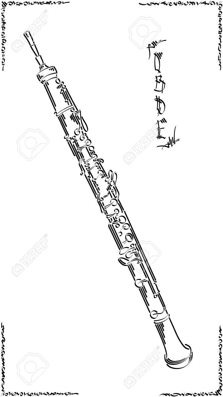 kostenlose malvorlagen oboe  aglhk