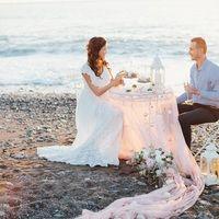 Фото отчёты о свадьбах : Свадьбы на пляже : Свадьбы в розовом цвете : 112 Фото идеи
