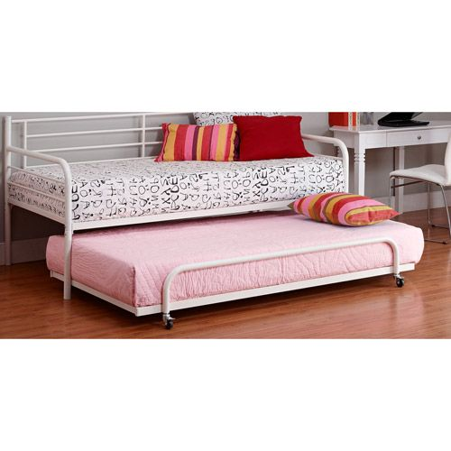 Home Metal Daybed With Trundle Metal Daybed Daybed