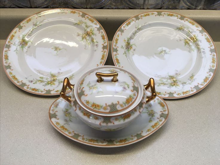 Five pieces of Limoges, Goodwill Industries $5.50.
