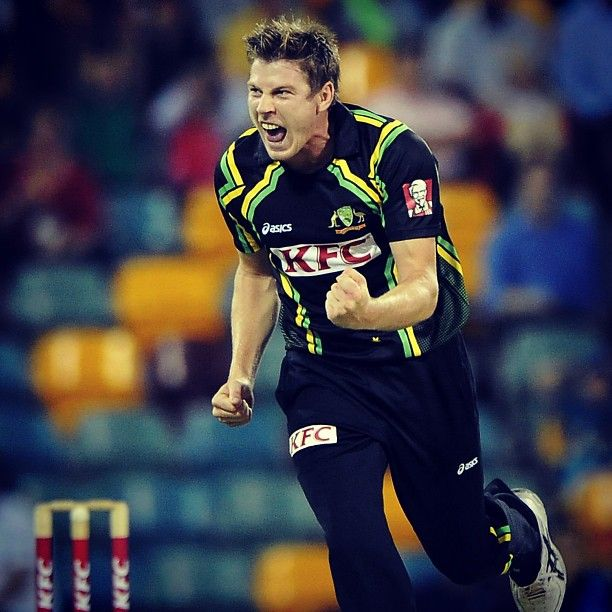 James Faulkner claimed 3-28 (4 overs) in Australia's 27-run loss to the West Indies last night #AUSvWI