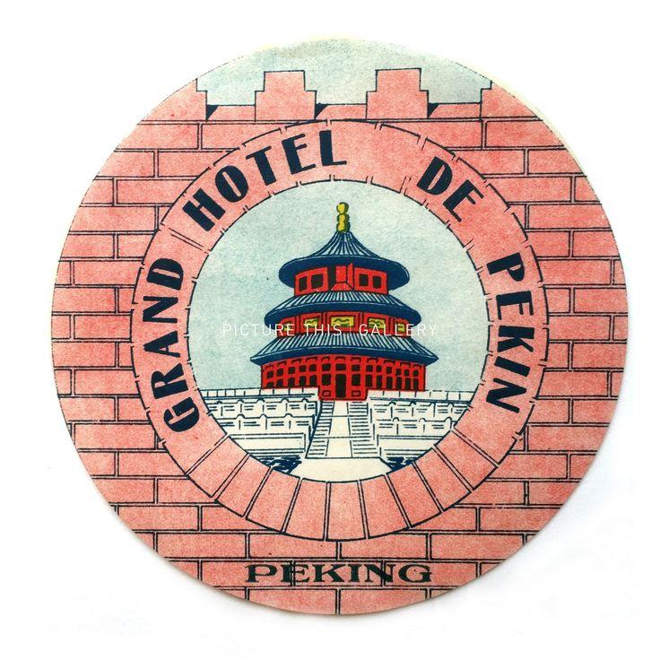 Grand Hotel de Peking Beijing China