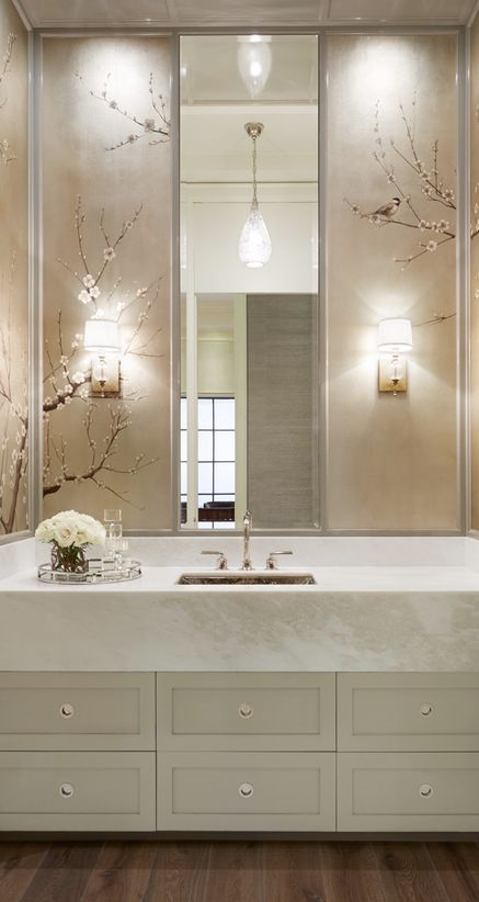 I'm loving touches of gold in bathrooms but am I ready for gold taps, the verdict is still out. If you're clever how you go about ...