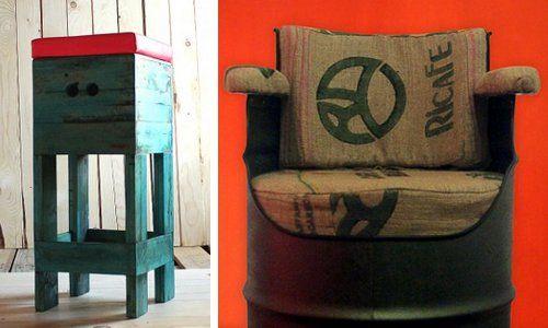 @redolab è un #laboratorio che produce oggetti di #artigianato recuperando il legno dei #pallet, i vecchi sacchi di #juta, le bottiglie di #vetro e i ritagli di #pneumatici, fino ai grossi #bidoni dell'olio dismessi. Il risultato è una serie di #arredi di splendida fattura e bellezza. #EcoDesign su @marraiafura