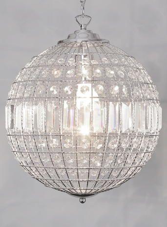 Ursula Large Crystal Ball Pendant Light