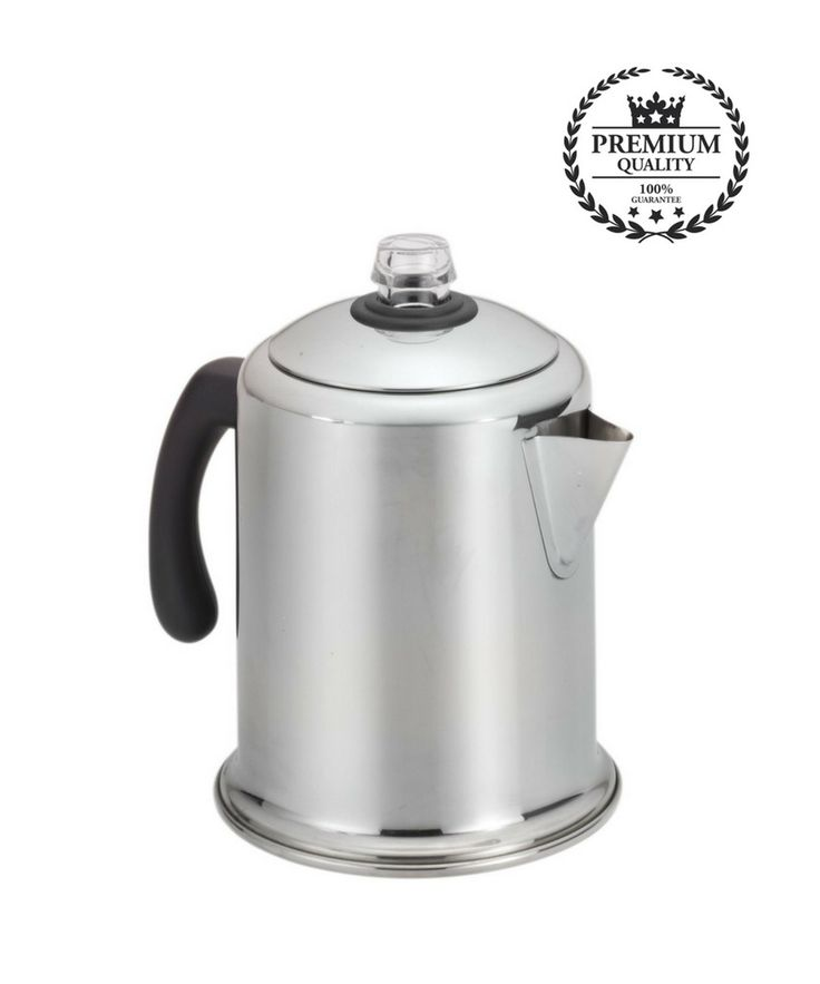 Peets Coffee Maker Classic Heavy-duty Stainless Steel 8-Cup Coffee Percolator  #Farberware