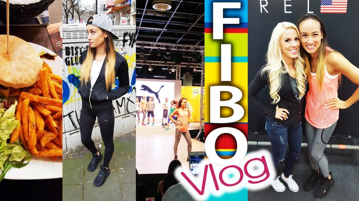 Fibo 2016 Vlog - Köln - Lieblingsyoutuber getroffen - Catwalk - Tattoo -...