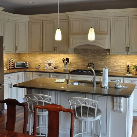 Wild Rice Caesarstone Benchtop Kitchen Design Ideas, Pictures, Remodel And  Decor