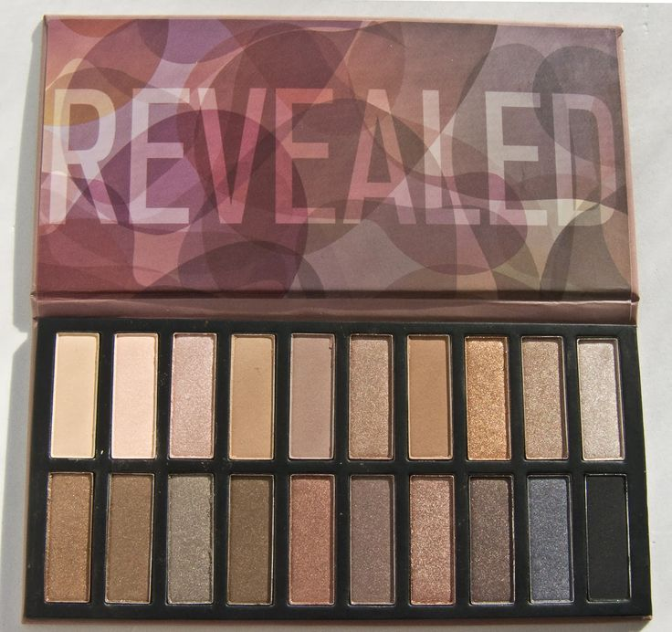 WARPAINT and Unicorns: Coastal Scents Revealed Palette: Swatches & Review & comparison to UD Naked 1 and 2