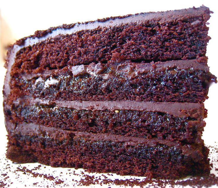 Tartine Devil S Food Chocolate Cake Recipe