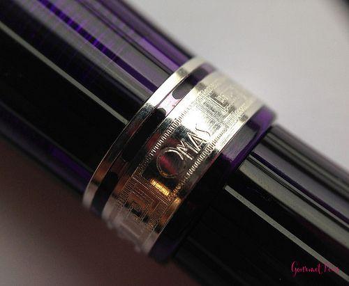 Review: OMAS Ogiva Alba Fountain Pen - EF Extra Flessible @OMASsrl @couronneducomte @GouletPens