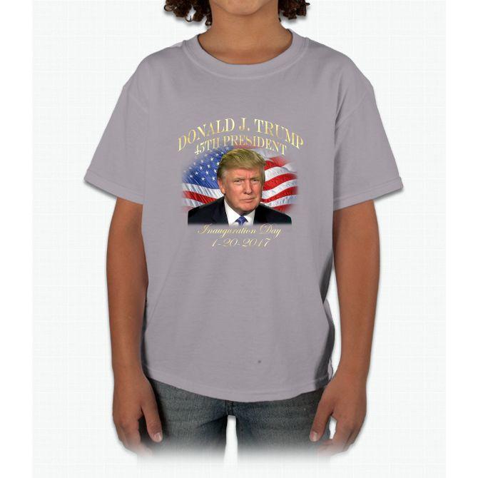 President Donald Trump Inauguration Young T-Shirt