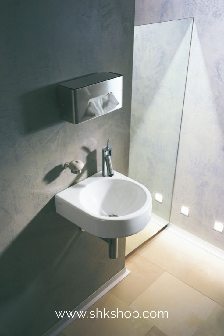 Duravit Handwaschbecken Architec 36cm Ohne Berlauf Mit Hahnlochbank Hahnloch Vorgestochen Duravit Waschbecken Gaste Wc Handwaschbecken