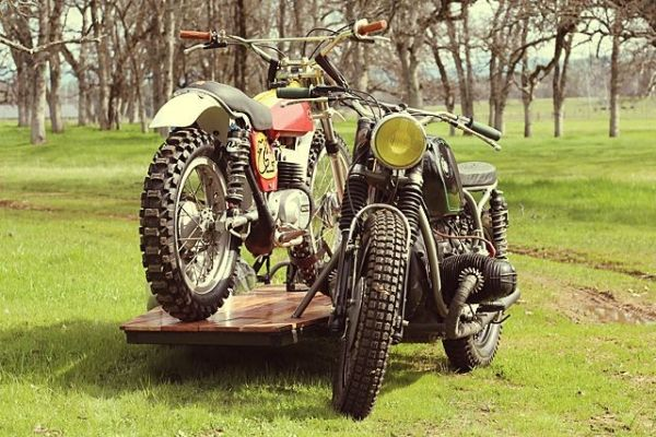 BMW & Bultaco от Kick Start Garage: сиамские близнецы