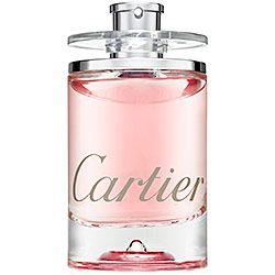 Cartier - Eau de Cartier Goutte de Rose    Eau de Cartier Goutte de Rose—a bright and joyful fragrance, infused with the delicacy of a freshly picked garden rose
