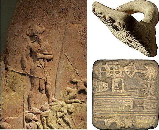 Akkad'un Naram-Sîn'in Kraliyet Yazısı: Tuğlaları Baskılar için Blok Kullanan İlk Antik Kral