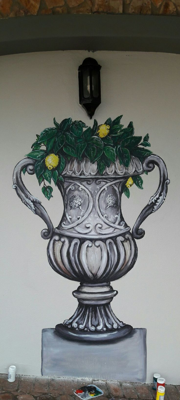 Pva wall painting