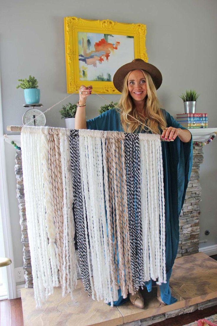 Yarn Wall Art best 25+ yarn wall art ideas on pinterest | yarn wall hanging, diy