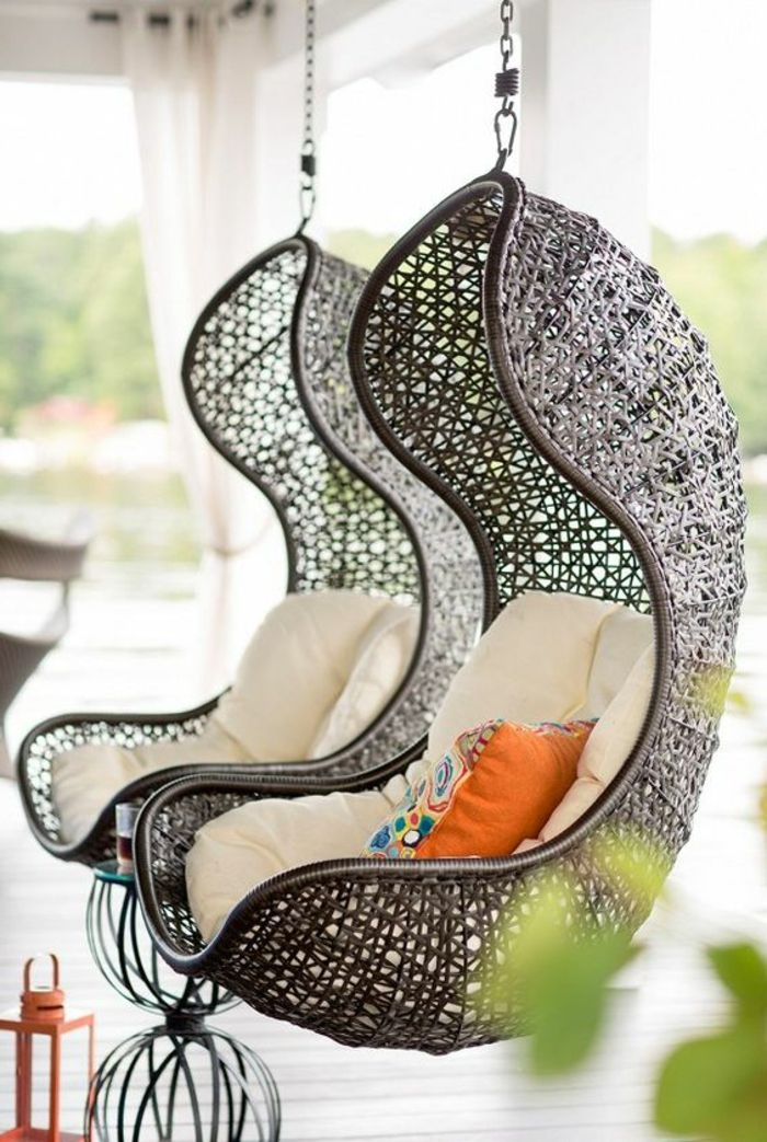 les 25 meilleures id es concernant chaise d 39 oeuf suspendue sur pinterest chaise oeufs lit. Black Bedroom Furniture Sets. Home Design Ideas