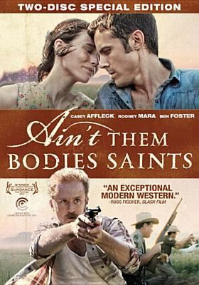 Ain't Them Bodies Saints - Casey Affleck, Rooney Mara. Four years ago, impassioned young outlaw couple Bob Muldoon and Ruth Guthrie were apprehended in the Texas hills during a shootout that left a local officer wounded by a bullet from Ruth's gun. Taking the blame, Bob was sentenced to 25 years in prison. After having engineered a daring escape, Bob is now determined to reconnect with the love of his life and meet the daughter who was born while he was incarcerated.