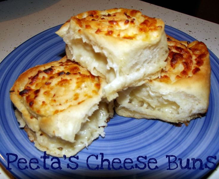 Peeta's Cheese BunsLife With The Crust Cut Off