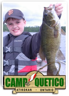 http://www.smallmouthbassbook.com/  Smallmouth Bass Fishing With Camp Quetico