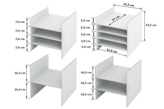 Ikea Kallax Shelf Insert Multiple