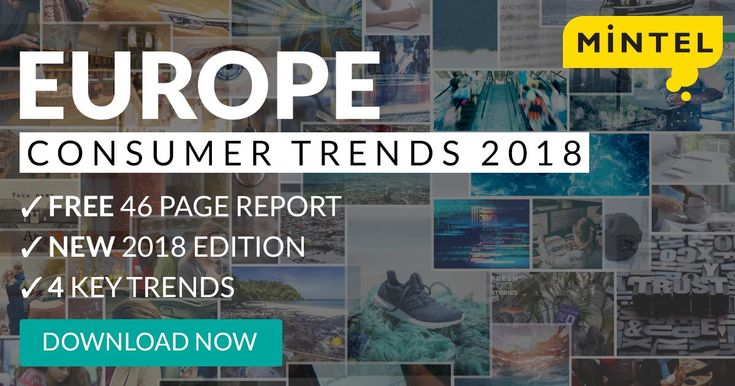 Mintel's team of expert analysts have identified and analyzed four key trends that will define the European consumer markets in the coming year. Get your free copy now!
