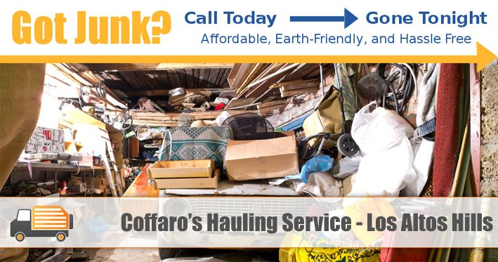 Coffaro's San Jose Hauling Service offers complete garbage, trash and junk removal services in Los Altos Hills, CA and surrounding areas. Visit http://www.sanjosehaulingservice.com/los-altos-hills-junk-removal/