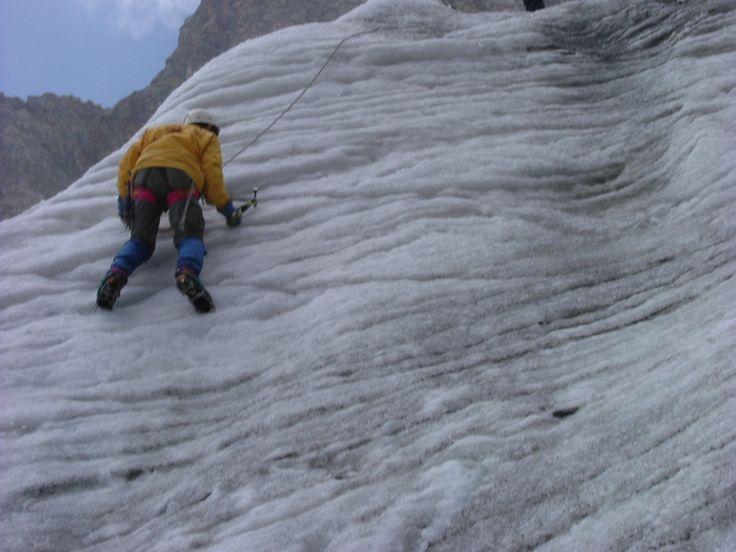 Corso CAI prove su ghiaccio