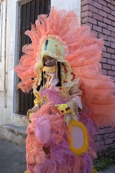 Young Mardi Gras Indian - This is what it means to be raised with tradition! The Mardi Gras Indians spend an entire year hand-sewing their elaborate costumes for Mardi Gras