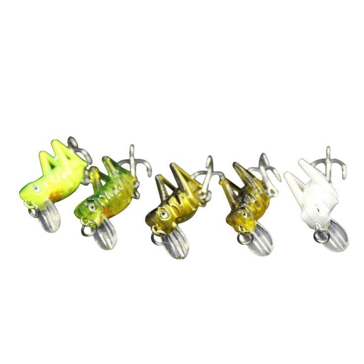 Wholesale Price 5pcs/set Fishing Locust Lures Set Spinner Baits Crank Bait Bass Tackle Hook Fake Lure