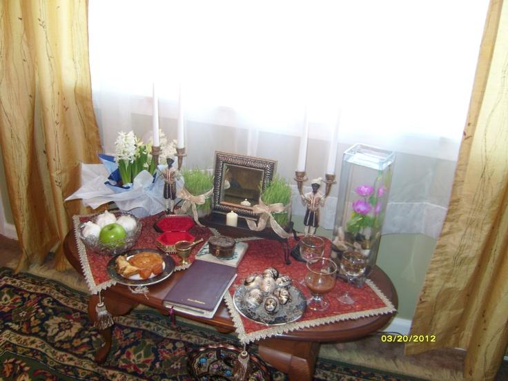 Norooz Haft Sin 1391 2012 Persian