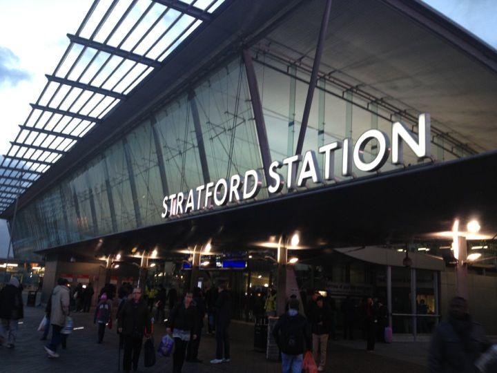 STRATFORD STATION | STRATFORD | LONDON | ENGLAND: *London Underground: Central Line; Jubilee Line; DLR; London Overground; Crossrail; National Rail*