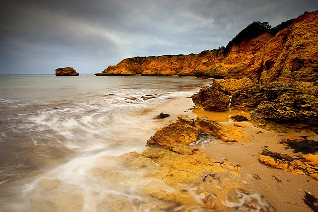 Rocky Point at Torquay, Victoria, Australia.
