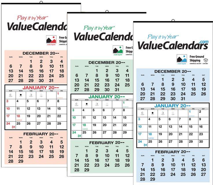 2017 3 Months-at-a-Glance Calendar 12-1\/4 - what is a marketing calendar